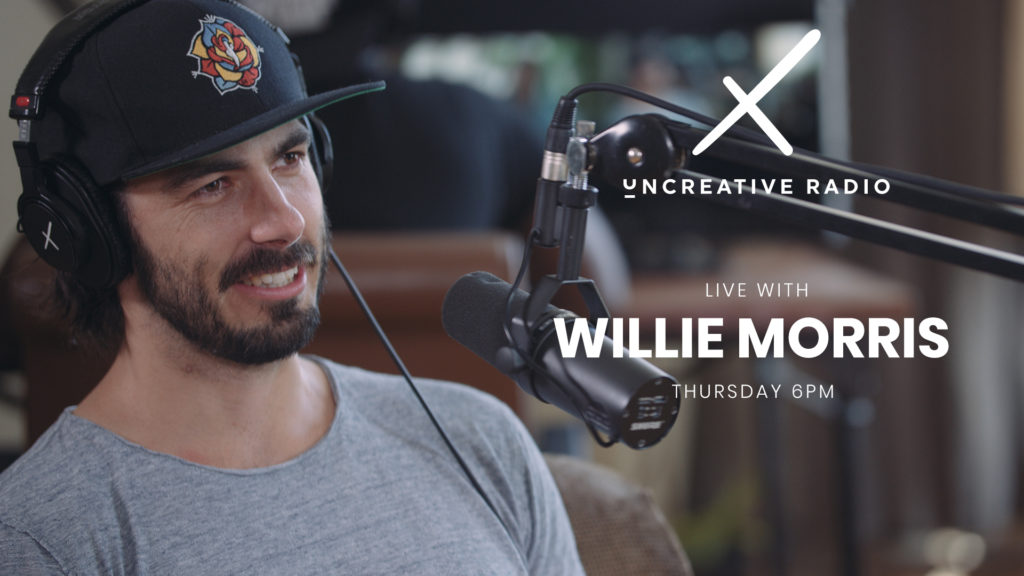 uncreative radio with willie morris